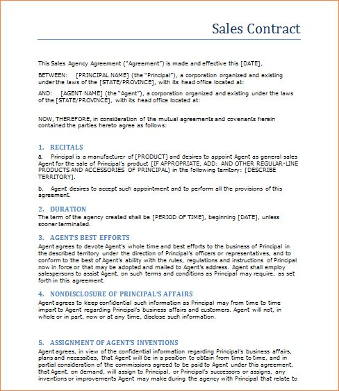 3+ sales contract templateReport Template Document | report template