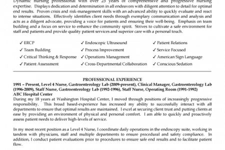 Free Nurse Practitioner Resume Example Nurse Practitioner Resume .