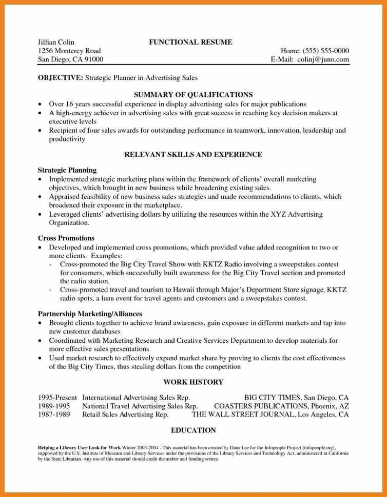Best Career Summary Example Pictures - Best Resume Examples for ...