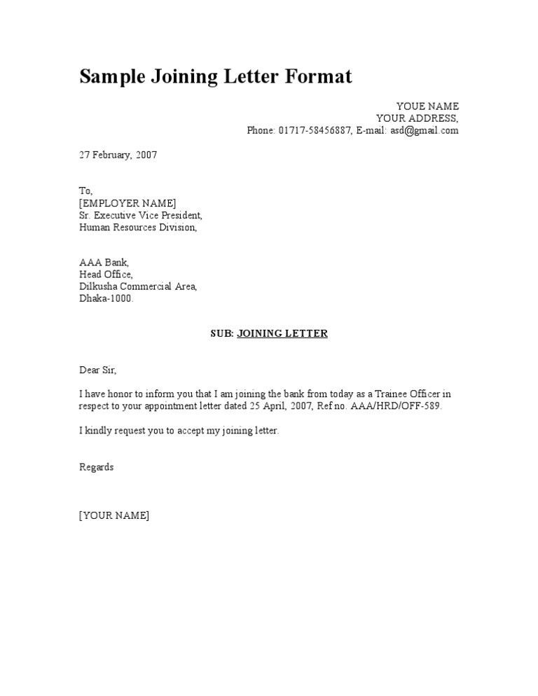 Business Appointment Letters. Employee Appointment Letter - Which ...