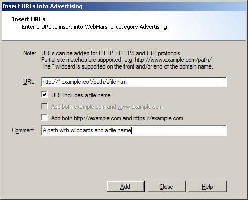 Understanding URL Categories