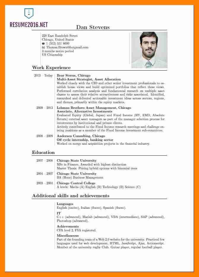 different resume types recent resume formats different resume