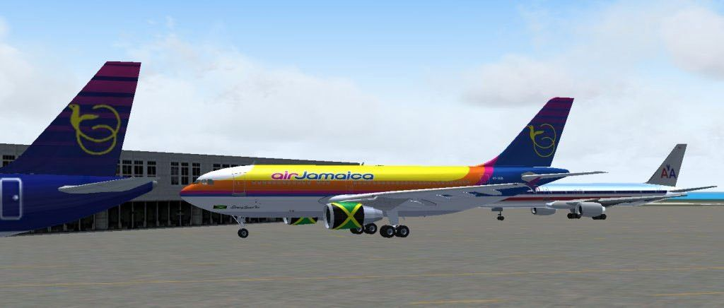 Air Jamaica Airbus A310-324(ET) for FS2004