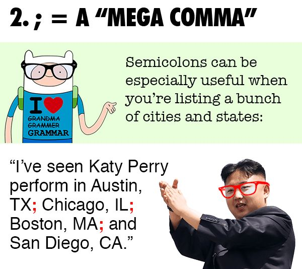 How to Use a Semicolon; It Is Actually Not That Hard — The YUNiversity