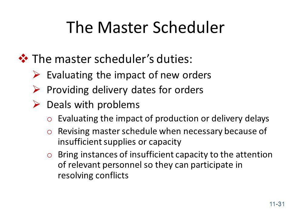 Aggregate Planning and Master Scheduling - ppt video online download