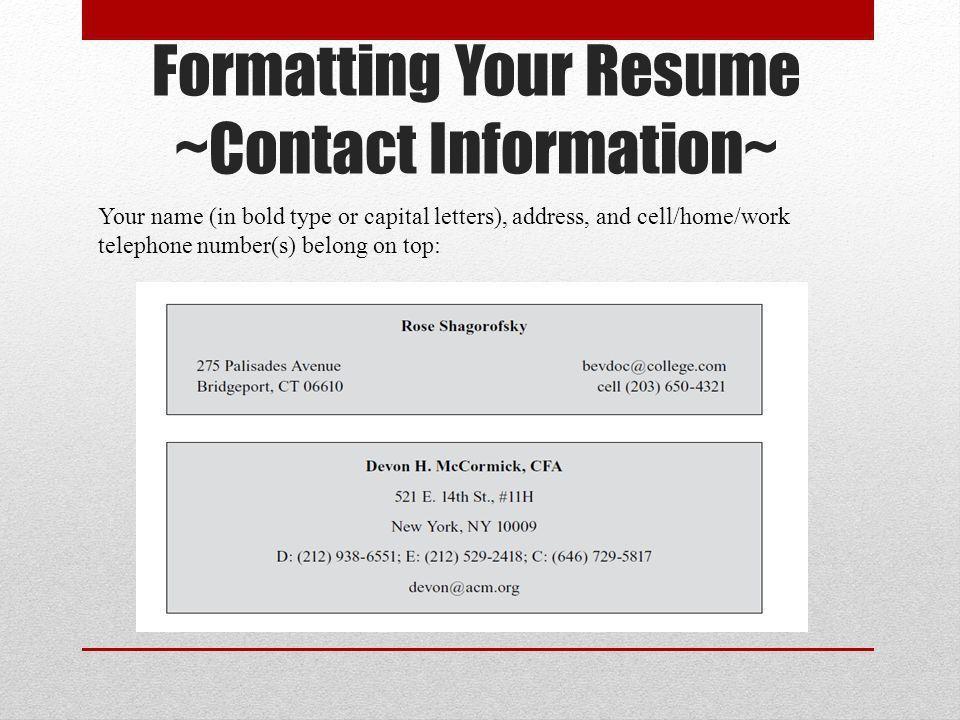 Basic Resume Writing. - ppt download