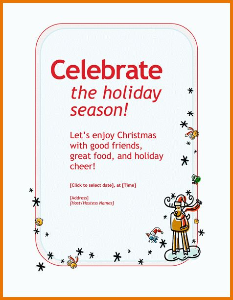 Holiday Invitation Wording.Holiday Party Invitation.png | Scope Of ...