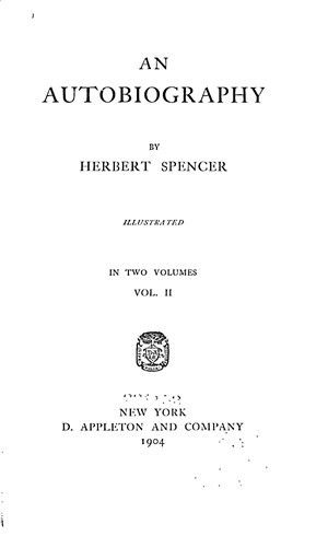 An Autobiography, vol. 2 - Online Library of Liberty