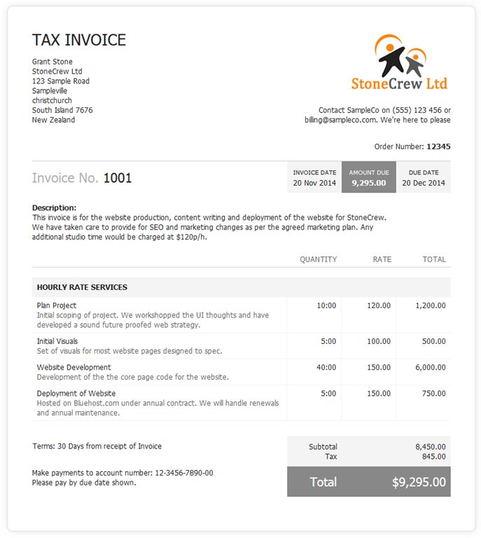 New Invoice Layout! Teaser! | The ProWorkflow Blog