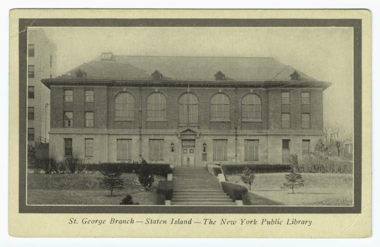 st george branch staten island the new york public library ...