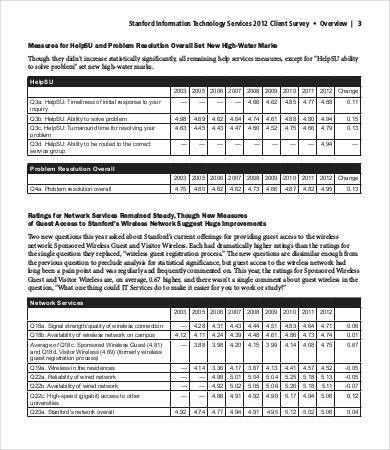 Printable Survey Template - 6+ Free Word, PDF Documents Download ...