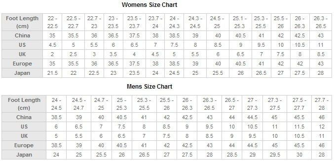 Size Chart and Measuring Guide - Webcosplay.com
