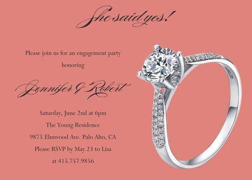 Engagement Party Invitation – Affordable And Unique Engagement ...