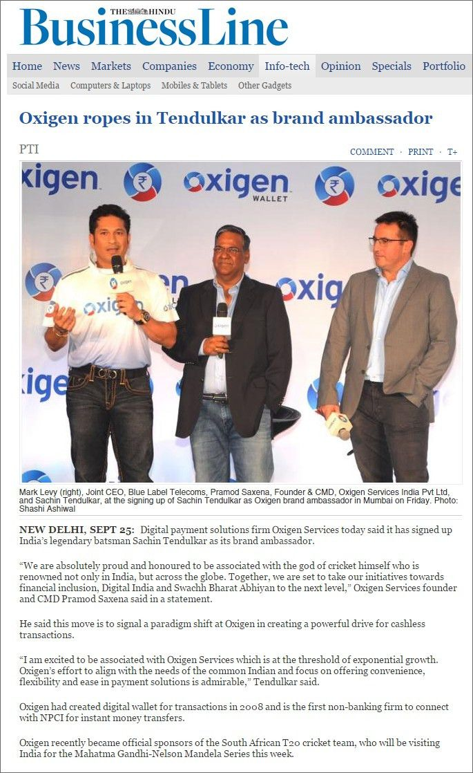 Oxigen News 2015 - Services distribution and payment collection ...