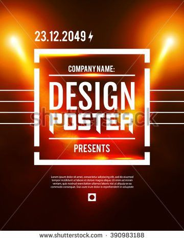 Event Poster Stock Images, Royalty-Free Images & Vectors ...