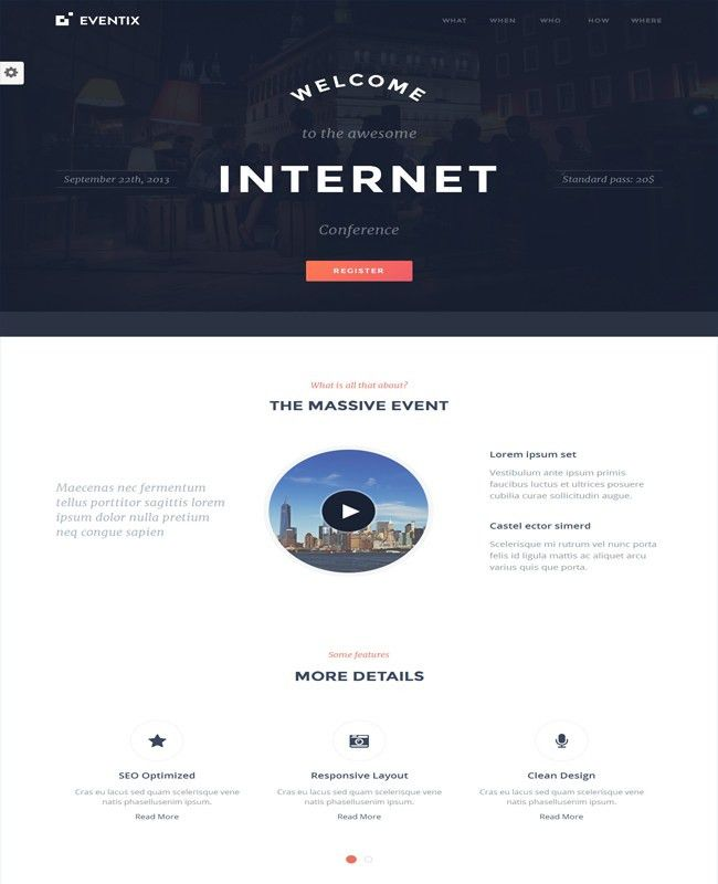 50+ Excellent Html Landing Page Templates Free & Premium - wpfreeware