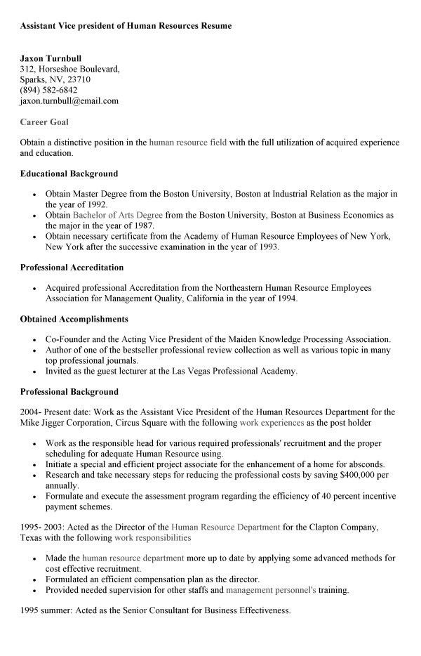 Human Resource Cover Letter For Job 19 Charming Assistant Resume ...