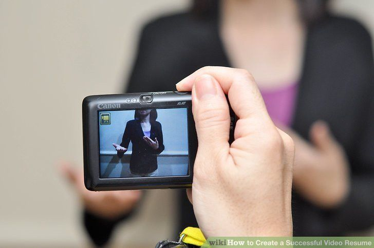Video Editing Resume, video resume samples, job interview ...