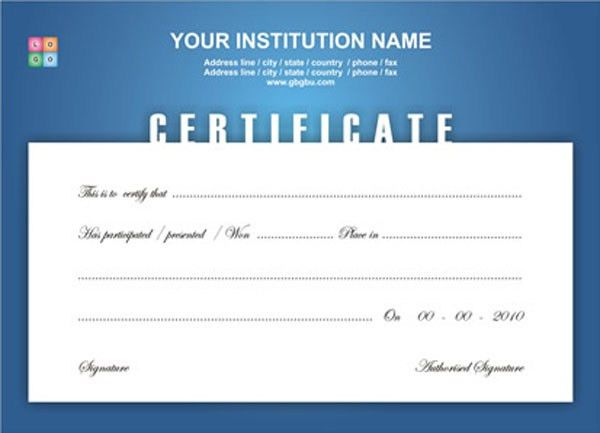 All posts tagged with sample certificate design psd