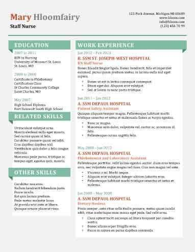 interesting resume templates 49 creative resume templates unique ...