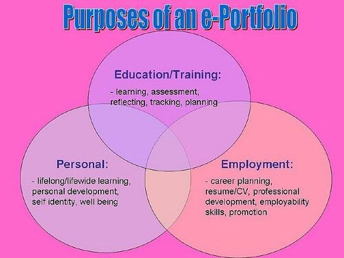 career portfolio examples | How to create e-portfolios for ...