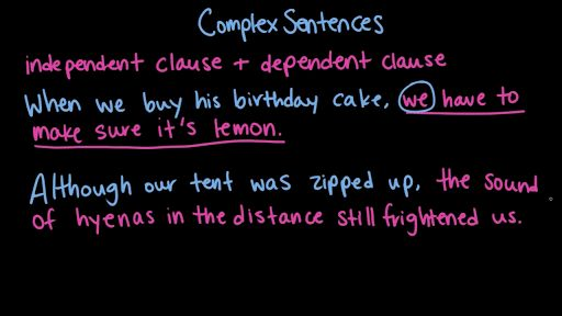 Compound-complex sentences (video) | Khan Academy