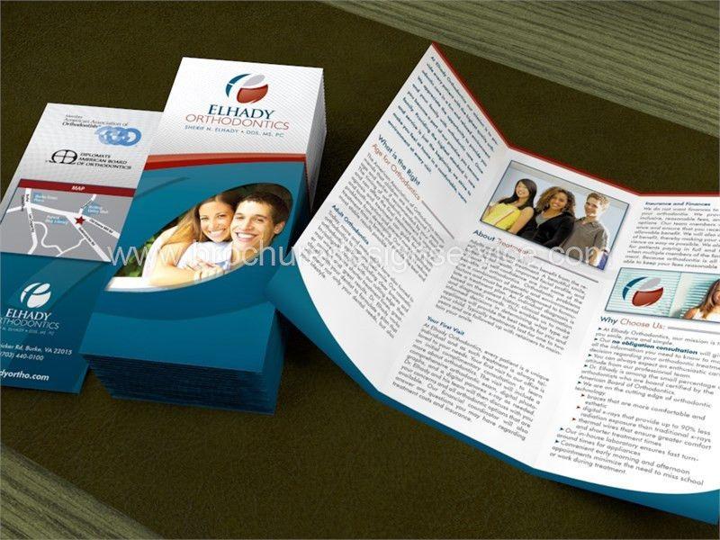 Inspiring Dentist Brochure Design - Orthodontics - Free ...