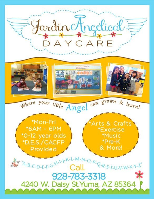 Daycare Flyer Template - 27+ Free PSD, AI, Vector EPS Format ...