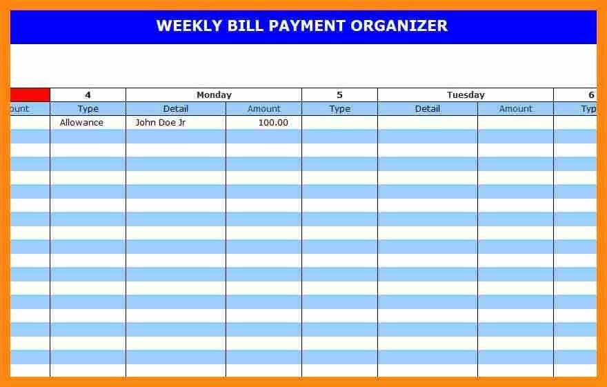 6+ bill pay calendar template | graphic-resume
