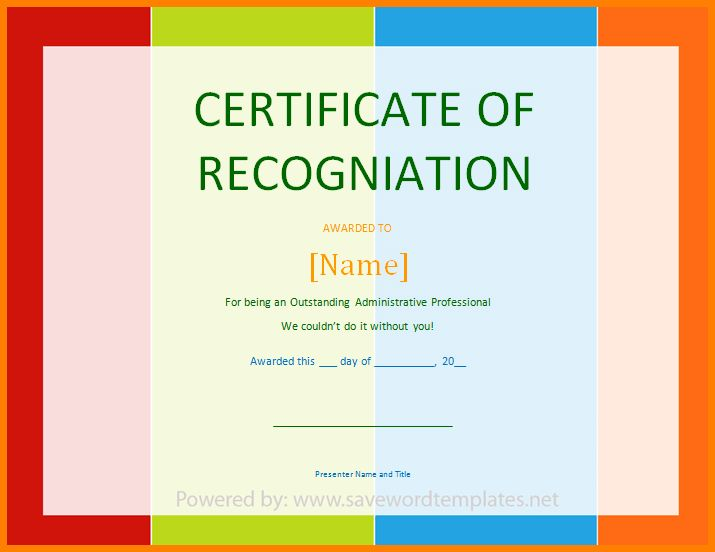 9+ recognition certificate sample | sample of invoice
