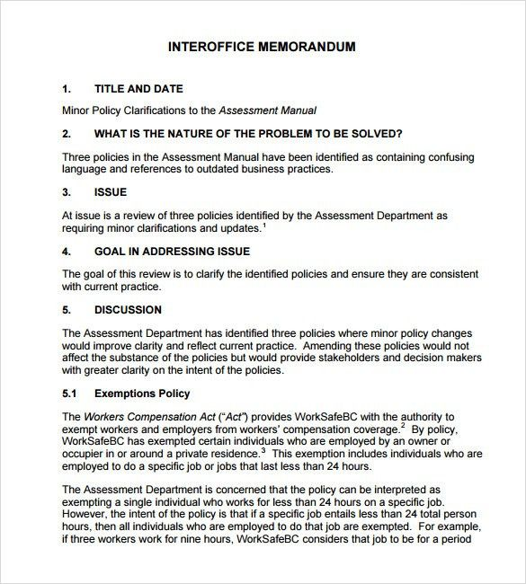 sample confidential memo – Free Online Form Templates