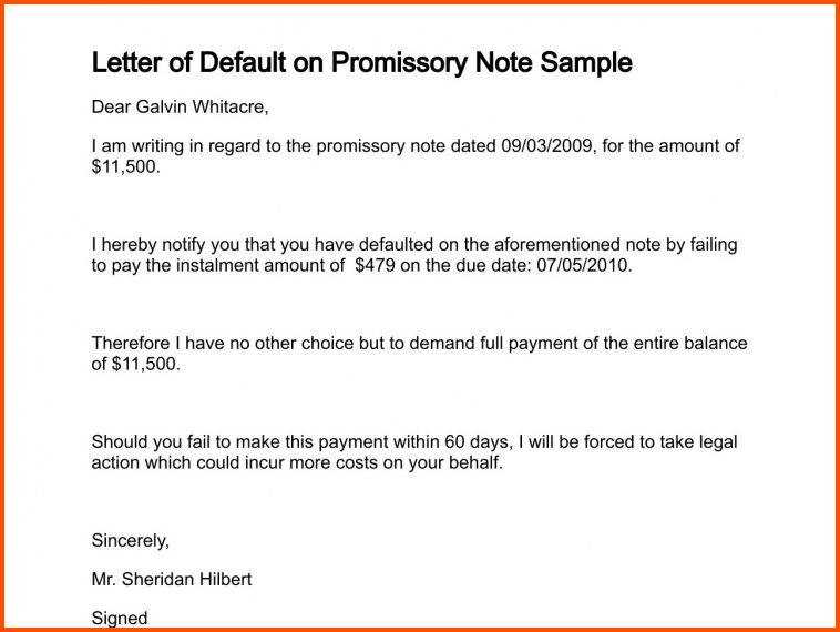 11+ sample promissory note | Survey Template Words