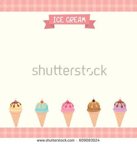 Illustration Vector Milkshakes Menu Template Decorated Stock ...