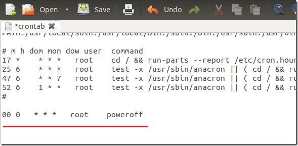 Schedule Tasks to Automatically Shutdown / Restart Ubuntu 12.04 ...