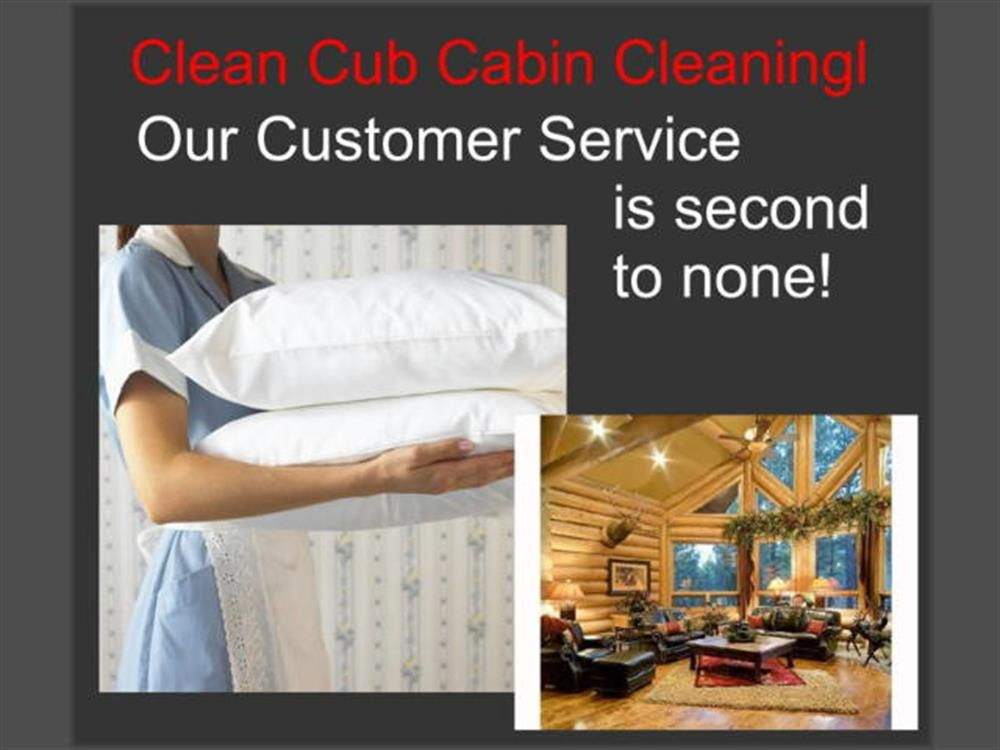 Clean Cub Cabin Cleaning Big Bear