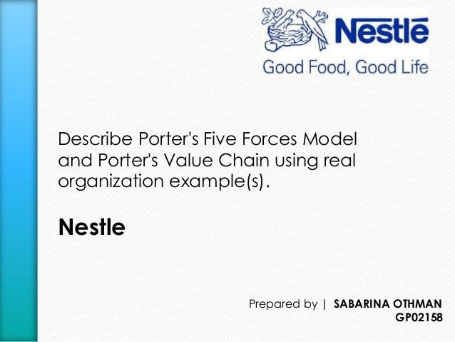 Porter's Five Forces Model and Porter's Value Chain of Nestle