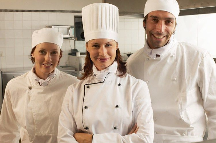 Stages and average salaries of a chef career