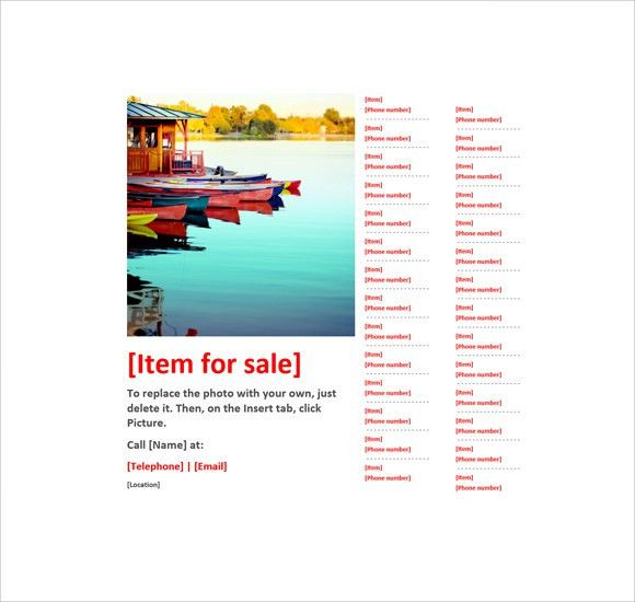 12+ Microsoft Flyer Templates - Download Free Documents in Word ...