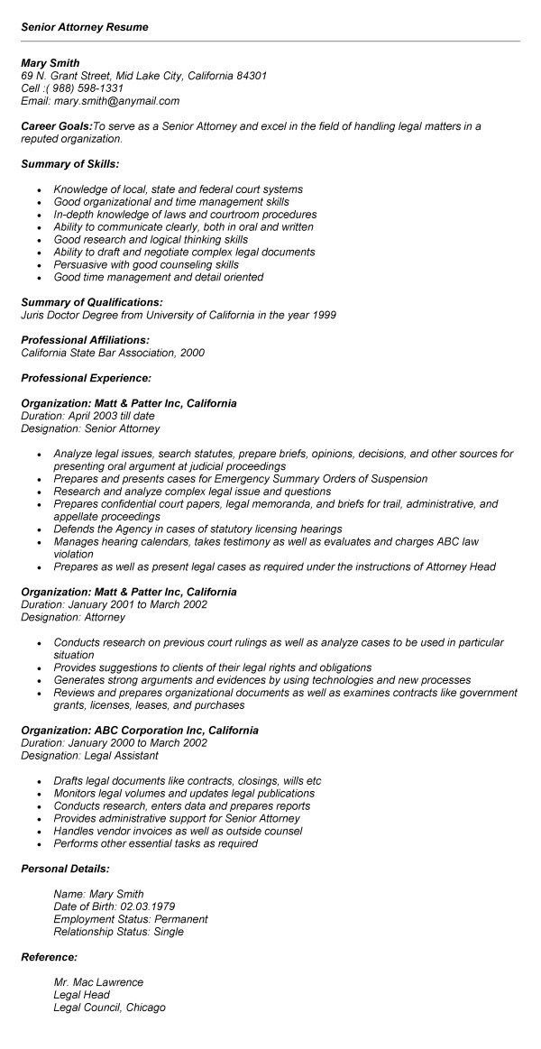 Document Review Attorney Resume / Sales / Attorney - Lewesmr