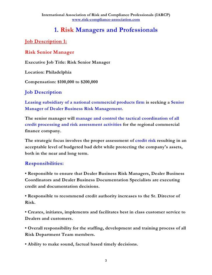 Management Job Description. Learn About What You'Ll Do In A Health ...