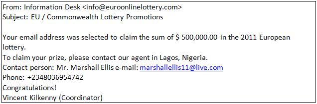 Congratulations, you've won! The reality behind online lotteries ...