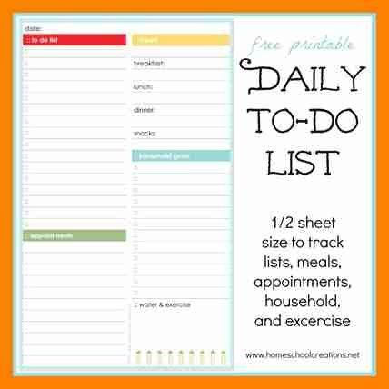 10+ work to do list printable | beverage-carts