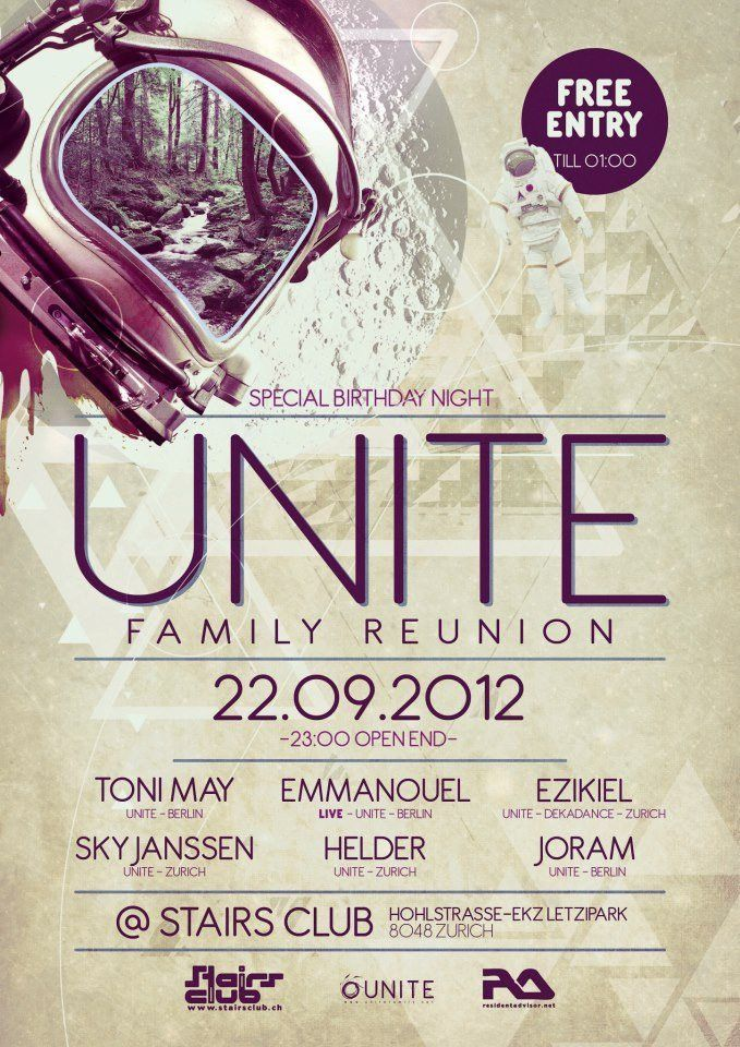 RA: Unite Family Reunion at Stairs Club, Switzerland (2012)