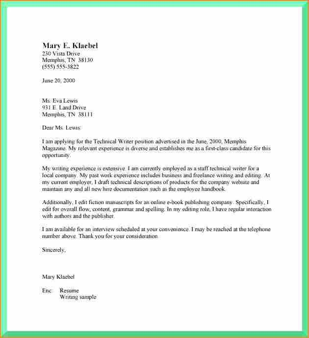 9+ sample cover letter format - Basic Job Appication Letter