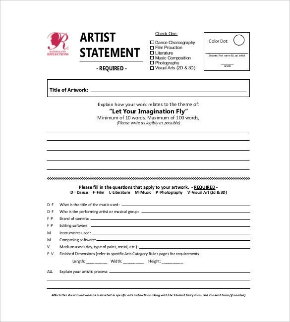 Statement Template – 17+ Free Word, Excel, PDF, Indesign ...
