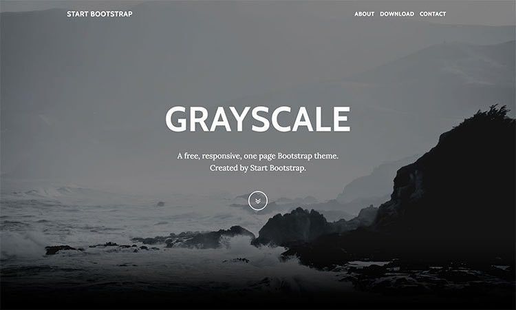 Free Bootstrap One Page Themes - Start Bootstrap