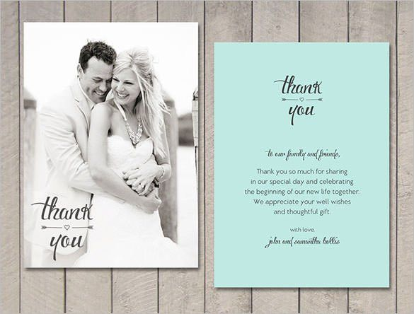 Wedding Thank You Card. Wedding Cards. Wedding Ideas And Inspirations