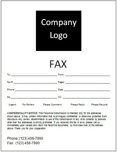 10 Best Images of Free Fax Cover Sheet Template Word 2013 - Fax ...