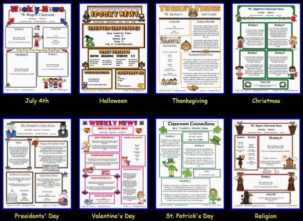 Best 25+ Teacher newsletter templates ideas on Pinterest | Parent ...
