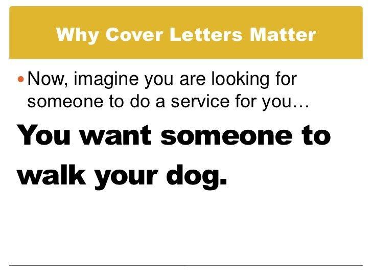 Prepare a Cover Letter using a Job Description